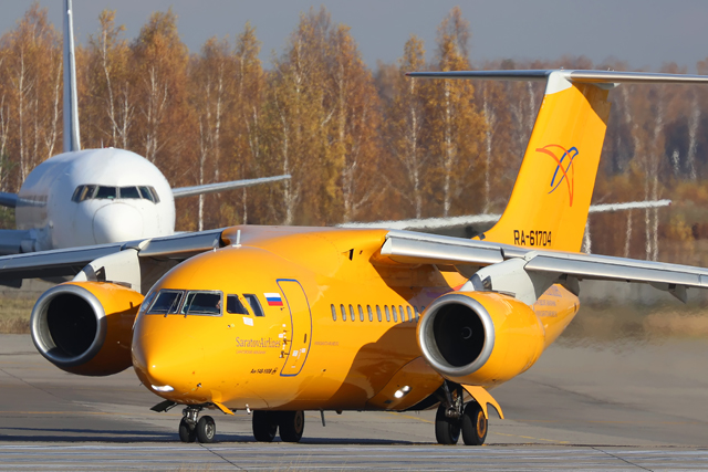 Saratov An-148 crash - moscow