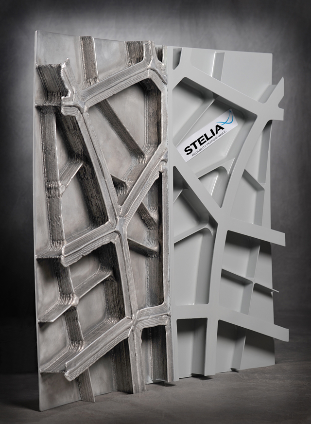 Stelia Aerospace 3D Panel