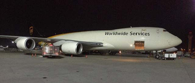 UPS 747-8F Louisville 1 February