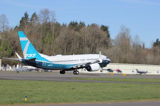 737 Max 7 rotate