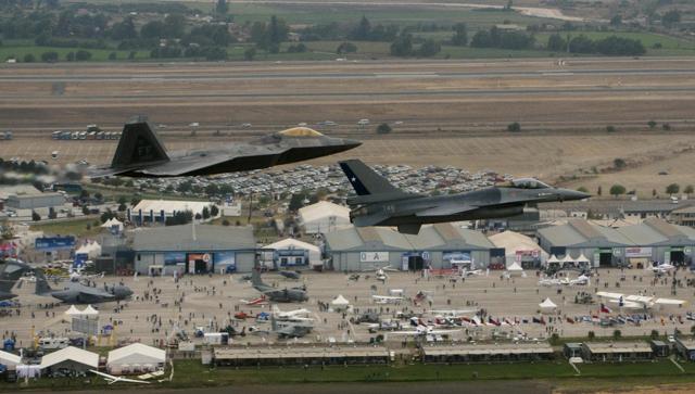 F-22 & F-16