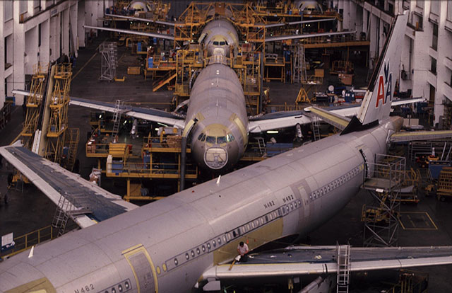 FIrst A320 production line