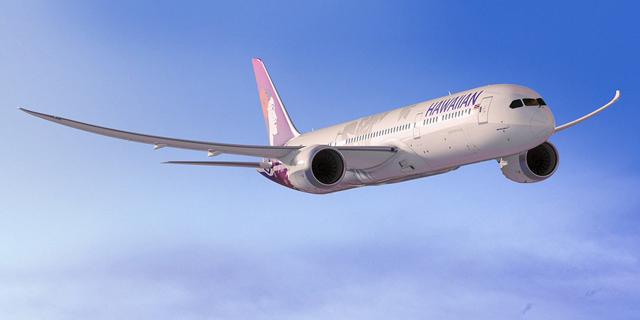 Hawaiin airlines 787-9
