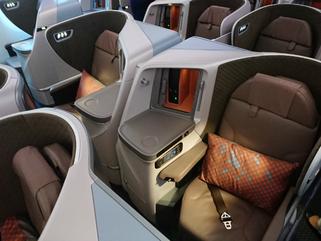 SIA 787 business class - PIC by Firdaus