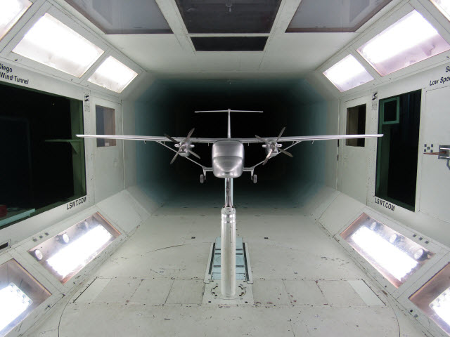 SkyCourier wind tunnel
