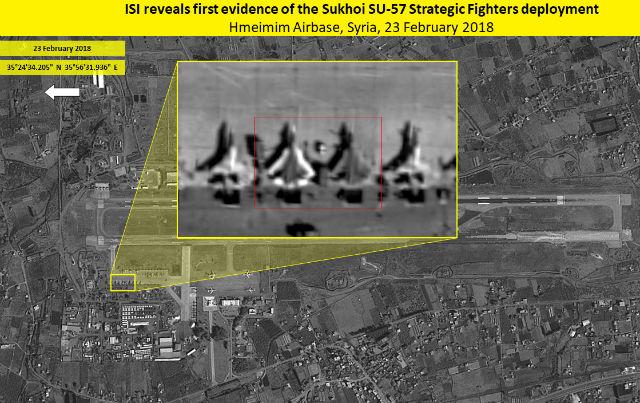 Su-57 Syria