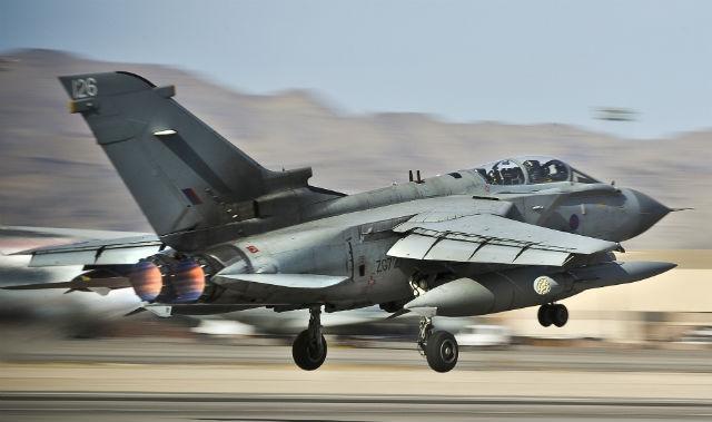 Tornado GR4 - Crown Copyright