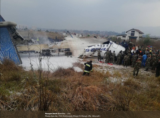 US Q400 Kathmandu crash