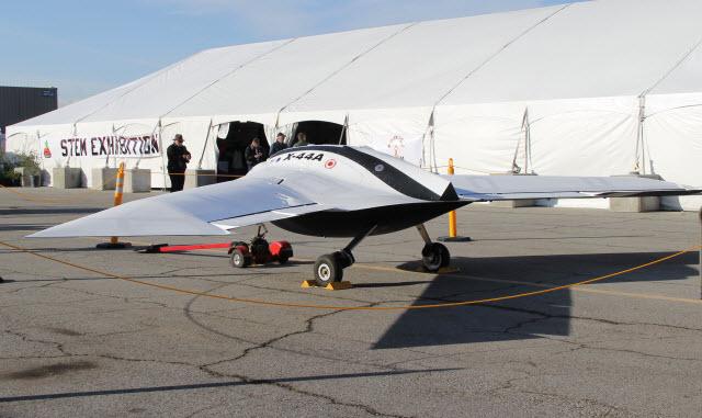 X-44A rear