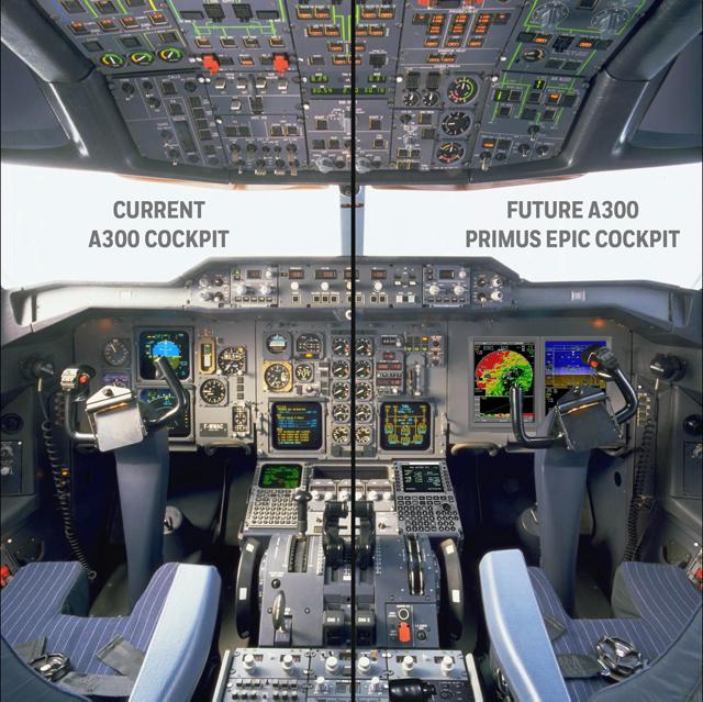 A300-600 cockpit