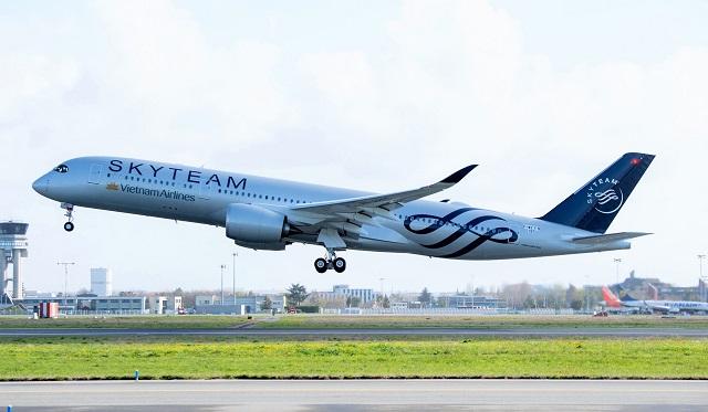 A350-vietnam-SkyTeam-c-Vietnam Airlines-640