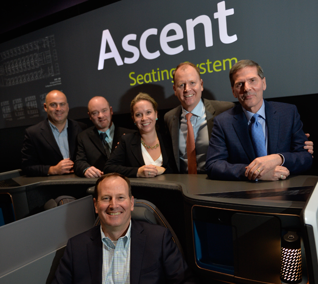 Adient/Boeing business seating