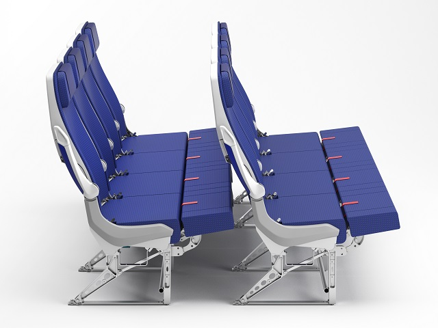 ANA A380 couch