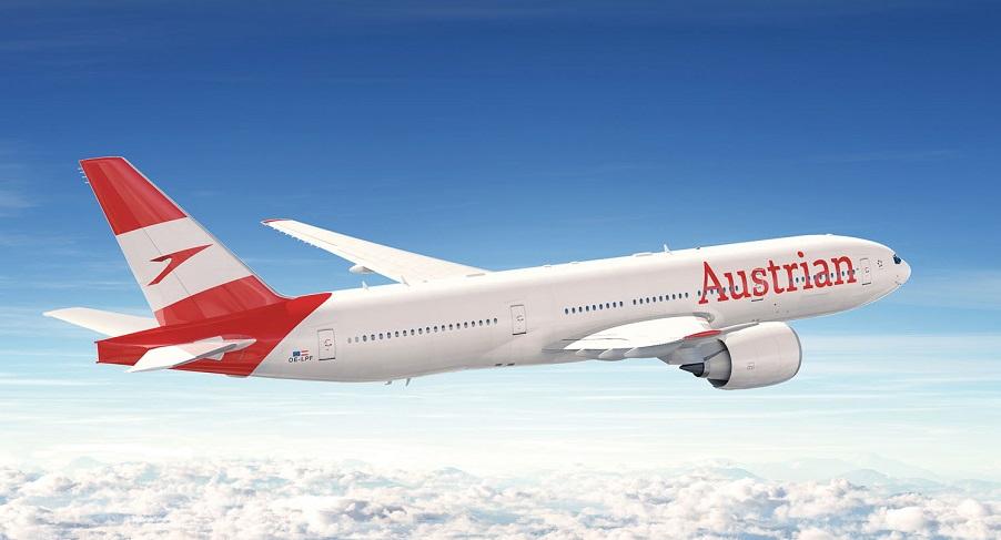 Austrian 777 new livery