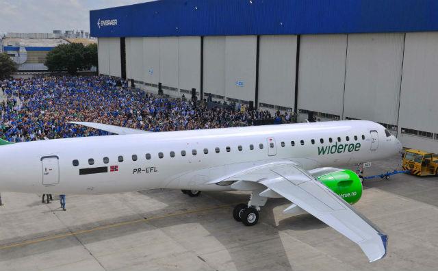 E190-E2 Wideroe - Embraer
