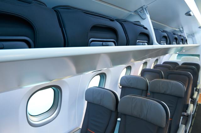 E2 jet seat mock-up