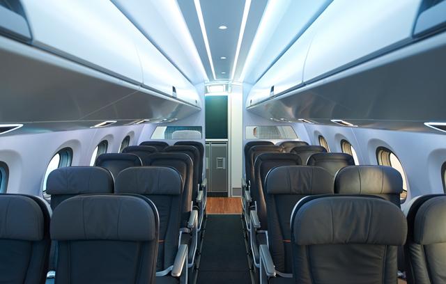 E2 seat mock-up