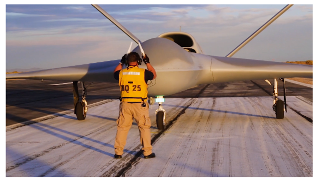GA-ASI Deck Director Wand for MQ-25 resized