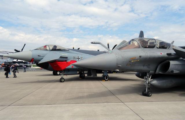 Rafale Eurofighter ILA - Craig Hoyle/FlightGlobal