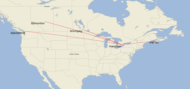 Swoop's initial route map 640px