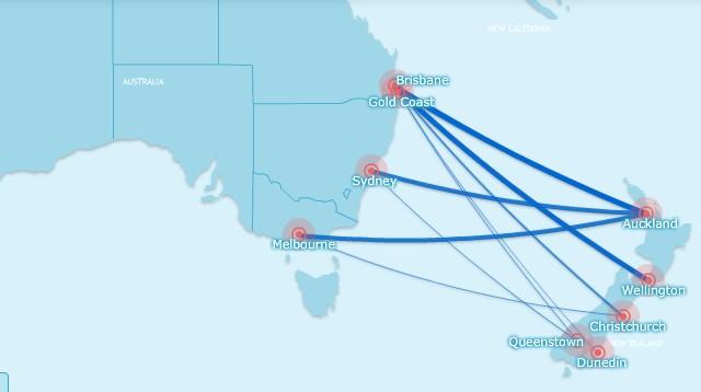 Virgin Australia transtasman