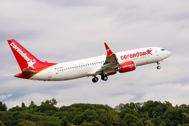 BOC Aviation first 737 Max Corendon Airlines