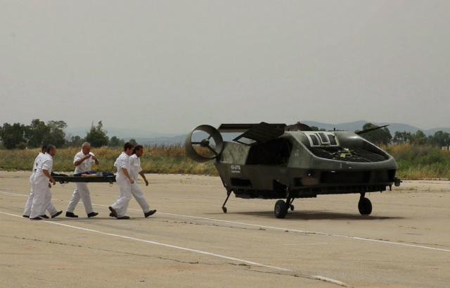 Cormorant UAV medevac - Tactical Robotics