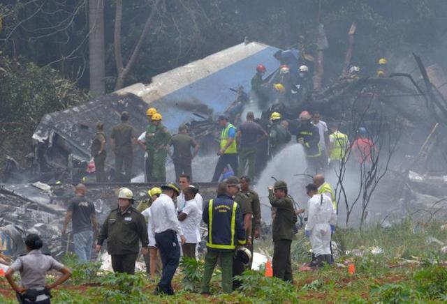 Damojh 737 Cubana crash credit: Granma