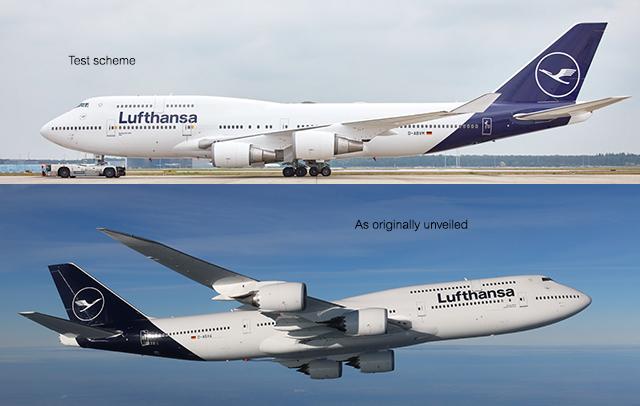 Lufthansa livery tweak