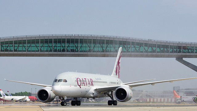 Qatar Gatwick 3