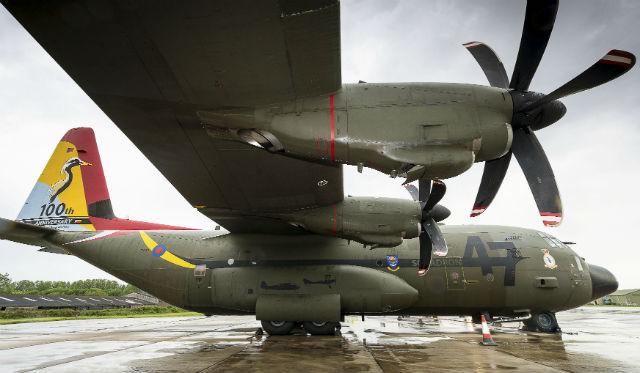 Retired RAF C-130J - Crown Copyright