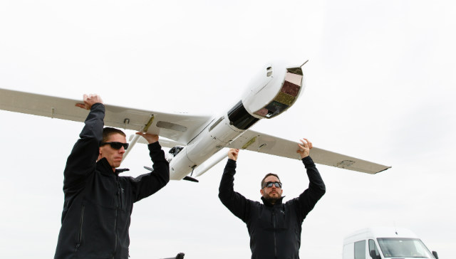 ScanEagle3 launch - Insitu