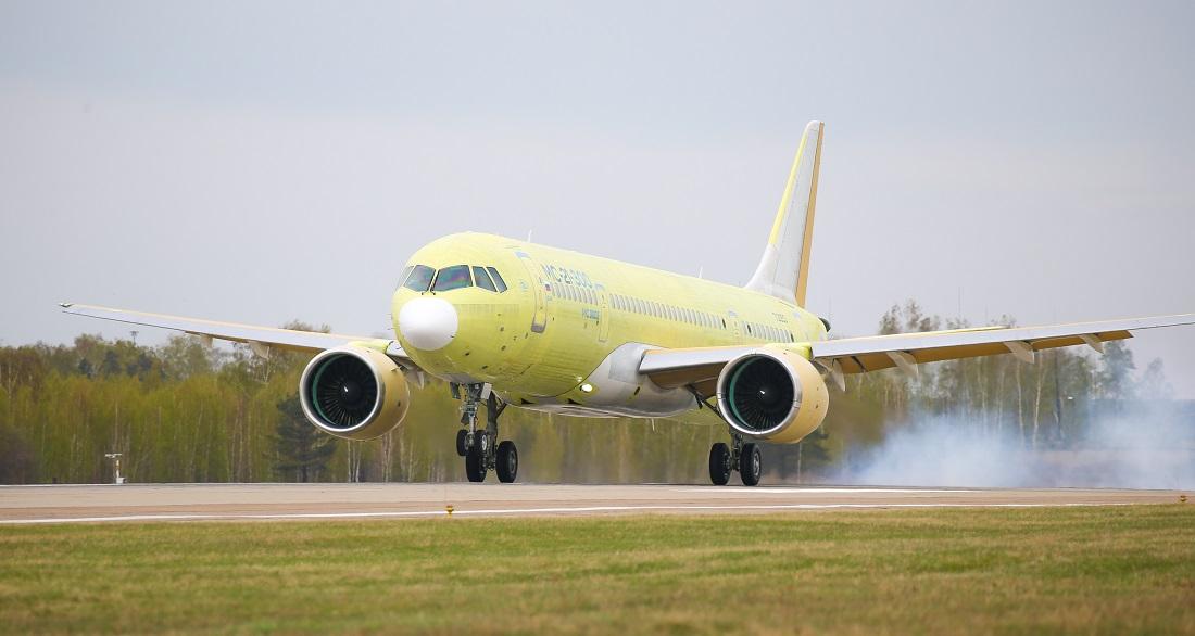 Second MC-21 maiden flight 2