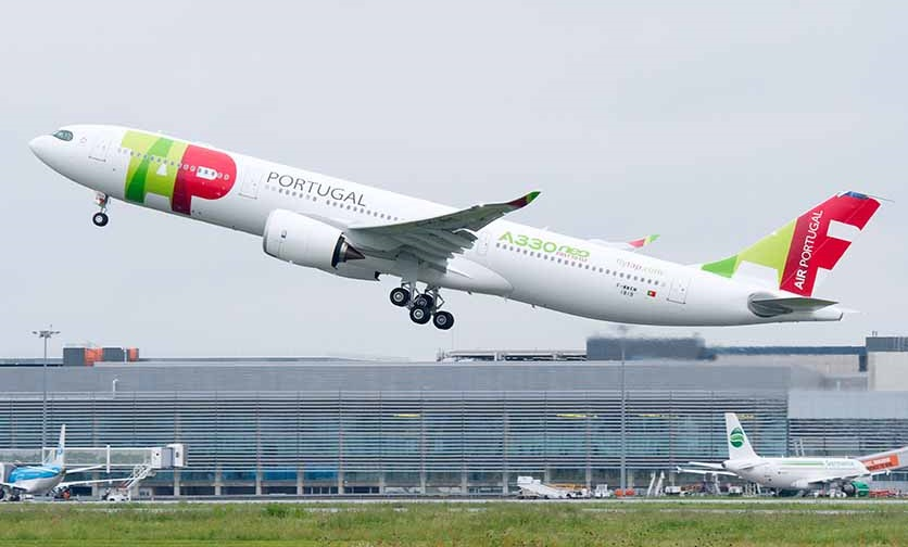 TAP A330neo first flight
