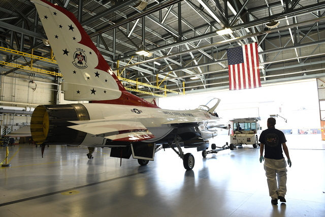 Thunderbird F-16 with service life extension