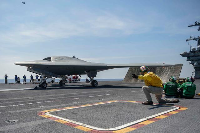 X-47B US Navy