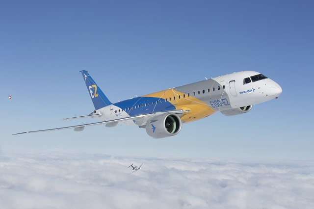 Embraer E190-E2. Embraer
