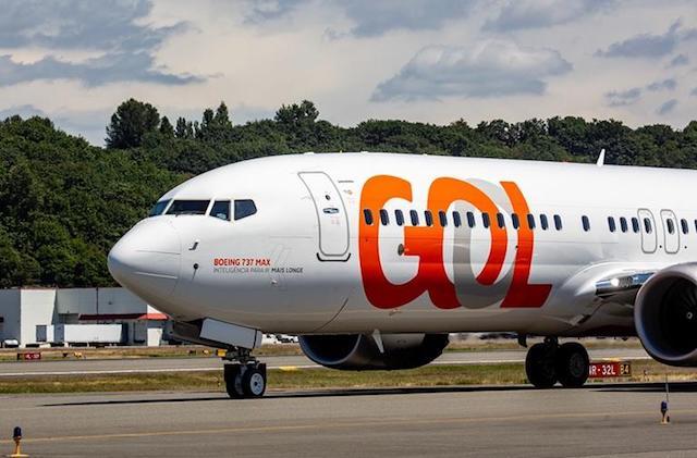 Gol first 737 Max