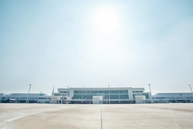 Semarang airport new terminal