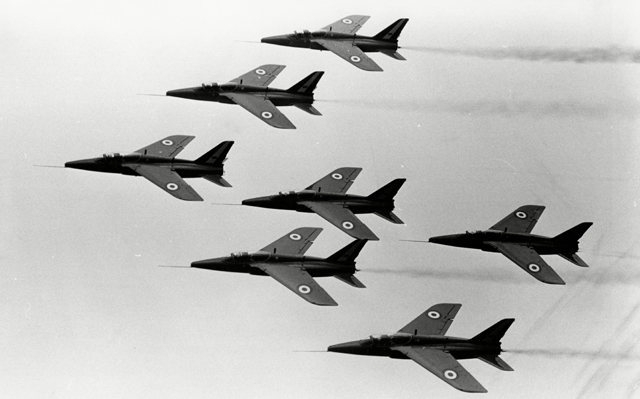 1966 red arrows