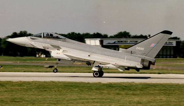 1996 eurofighter debut
