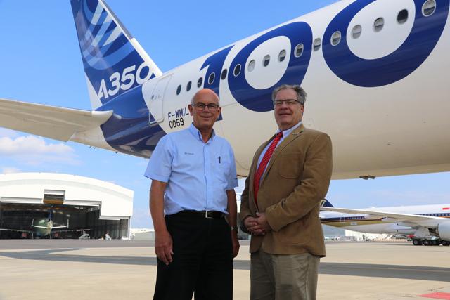 A350-1000 flight test