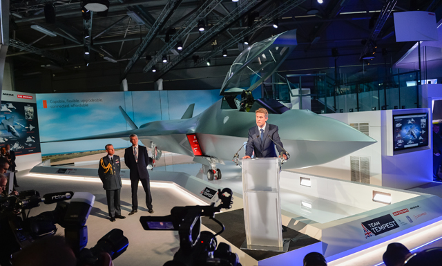 BAE Tempest launch