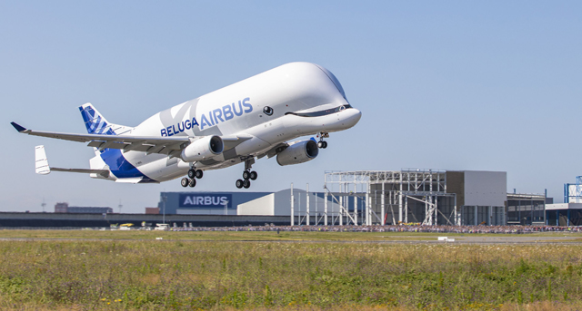 Beluga first flight