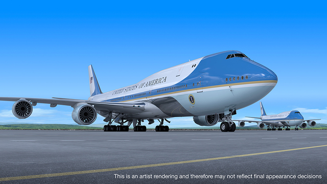 Boeing VC-25B 'Air Force One'