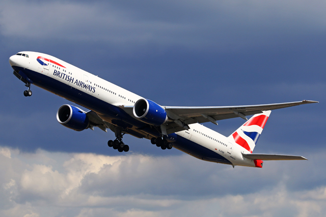 British Airways 777-300ER G-STBE
