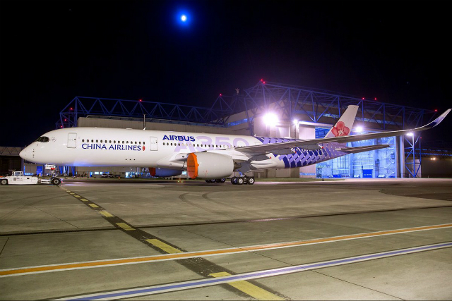 China Airlines A350 special livery - by Airbus