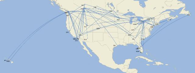 Delta WestJet transborder JUL18