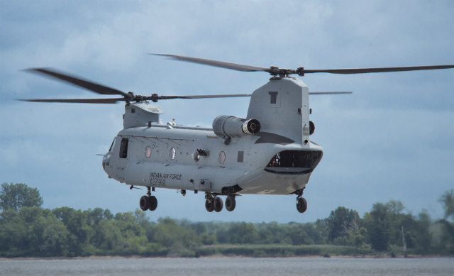 Indian Chinook - Boeing