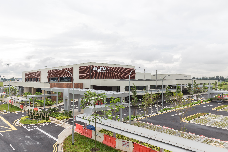 Seletar Airport aerial view